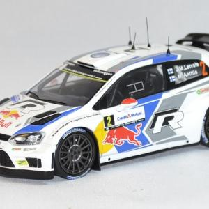 Volkswagen polo r wrc latvala rallye france 2014 whitebox 1 43 autominiature01 com 1