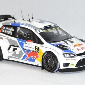 Volkswagen polo r wrc latvala rallye france 2014 whitebox 1 43 autominiature01 com 2