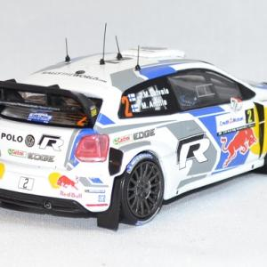 Volkswagen polo r wrc latvala rallye france 2014 whitebox 1 43 autominiature01 com 3
