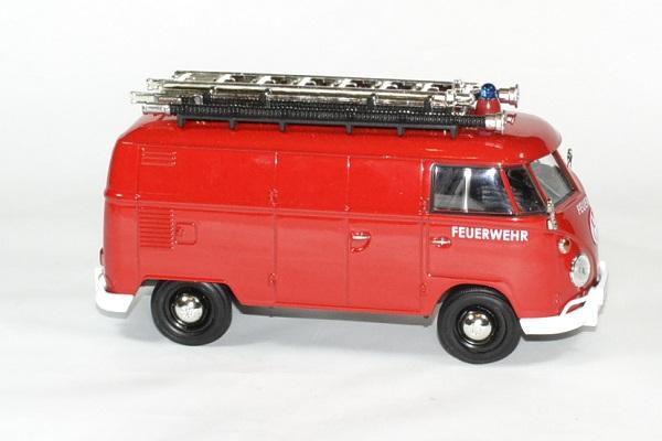 Volkswagen pompier 1 24 motor max autominiature01 3