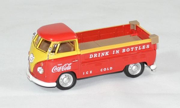 Volkswagen t1 coca cola 1962 pick up 1 43 motor city autominiature01 1 1