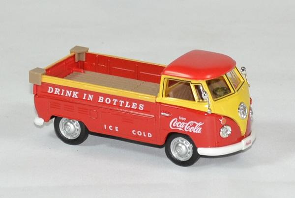Volkswagen t1 coca cola 1962 pick up 1 43 motor city autominiature01 3