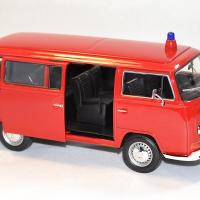 Volkswagen t2 1972 pompier welly 1 24 autominiature01 2
