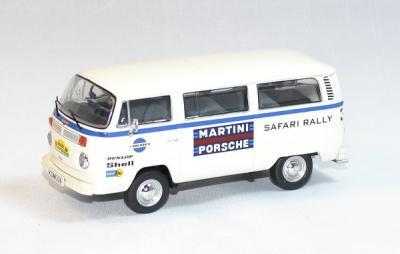 Volkswagen t2 porsche martini safary rallye 1978 premium 1/43