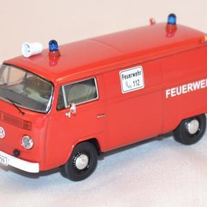 Volkswagen T2b fourgon pompier allemands