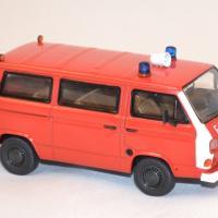 Volkswagen t3b fourgon pompier miniature premium 1 43 autominiature01 2