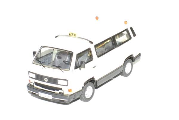 Volkswagen t3b taxi 1 43 premium autominiature01 1