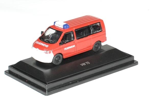 Volkswagen t5 pompier 1 87 schuco autominiature01 2