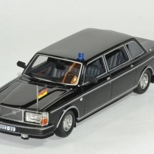Volvo 264 TE noire limousine Présidence Allemande 1978