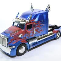 Western star 5700 ex phantom transformers optimus prime jada 1 24 autominiature01 115003 1