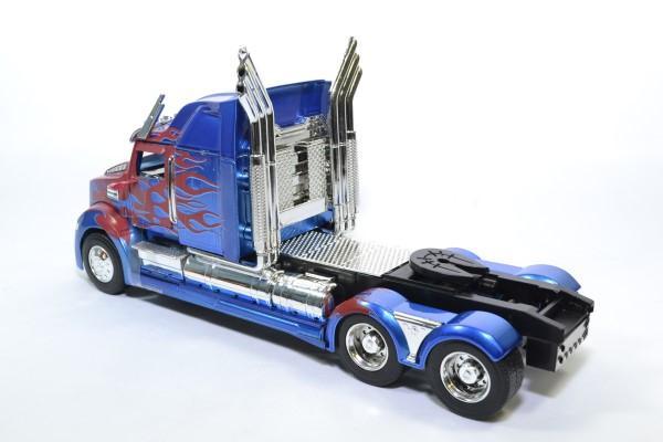 Western star 5700 ex phantom transformers optimus prime jada 1 24 autominiature01 115003 2