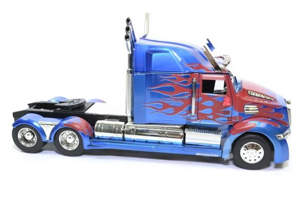 Western star 5700 ex phantom transformers optimus prime jada 1 24 autominiature01 115003 3