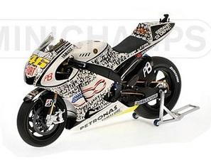 Yamaha yzr m1 2010 Rossi #46 Laguna Seca 2010