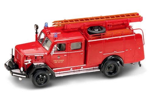 Yatming magirus 150d 10f tlf 16 sapeurs pompiers 1964 neumarkt autominiature01 com miniatures 1