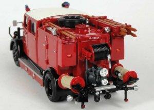 Yatming mercedes benz tlf 15 pompiers schorndorf 1950 autominiature01 com 43013 2