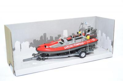 Zodiac Sapeurs pompiers bateau moteur